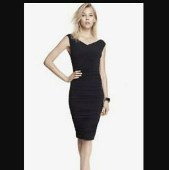 Express Dresses & Skirts - Express Ruched Tank Dress